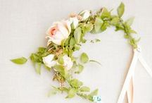 WEDDING // floral head crown / inspiration
