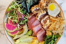 "Chirashi / ""Lazy"" sushi ideas."
