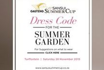 Summer Garden at the Gauteng SANSUI Summer Cup