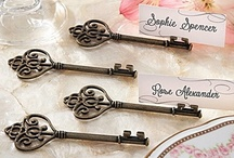Place Card Holders & Table Numbers