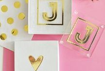 Monogrammed Gifts & Favors