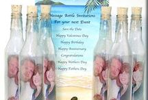 MIB ✩ Wedding Invitations ✩ / Shop By Theme: ✩Beach/Tropical ✩ Pirate ✩ Wine/Cocktail ✩ Luau ✩Hollywood ✩ Casino✩   https://www.invitationinabottle.com/Weddings_s/20.htm  Message in a Bottle Wedding Invitations - For Save the Dates - Rehearsal Dinner - Bridal Shower - Thank You & More