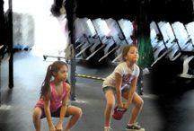 Kids keeping Fit