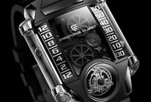 X-TREM-1 / X-TREM-1, the first of a new generation of timepieces, represents a major technical and aesthetic accomplishment: a flying tourbillon inclined at a 30° angle, mounted on a three-dimensional curvex titanium mainplate, equipped with a retrograde hours and minutes display system. For more information, please visit: http://www.christopheclaret.com/en/collection-x-trem-1-c7-p11.php