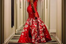Traditional bridal gown