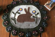 Wool Applique / by Sewbeezy Quilting