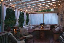 Verandah ideas backyard / Planning...