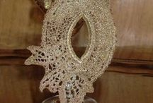 аксессуары / accessory\ mask\ lace\ crochet\ luxury\ irish crochet\filigree lace\ekslyuziv\ rarity\ scarcity\ curiosity\ rareness\ museum piece\unic hand made\filigree lace\masquerad mask\couture lace
