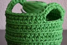 Crochet Containers Free Patterns / Crochet Spa Basket Free Patterns