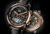 ALLEGRO / Following Adagio and Soprano, Christophe Claret presents his latest musical masterpiece, Allegro. Minute repeater with cathedral gongs, GMT, big date, small seconds and day/night indicator.