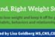 The Right Mind, Right Weight Summit / 21 Experts Health, Wellness and Transformation experts tell you how to change your habits, behaviors and relationship with food so you can get off of the diet roller-coaster for good!