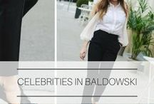 Celebrities in Baldowski