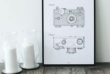 Classic Patent Artprints / Artprints: - Gallery quality fine art print on 180g paper - Material: 180g/m2 pure white paper - Finish: Matte