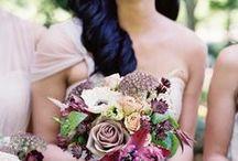 Brautstrauss / Inspirationsboard für alle Arten von Brautsträußen und Bouquets