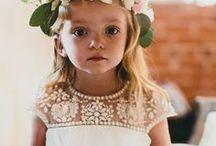 Kinder auf der Hochzeit / Inspirationsboard für alles rund ums Kind bei Hochzeiten; Styling, Beschäftigung, witzige  Essensideen...