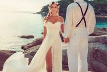 Strandhochzeit / Inspirationen und Ideen rund um eine Hochzeit am Strand oder mit Strand-Feeling