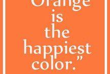 Hochzeitsmotto orange / Tolle Inspirationen rund um die Hochzeitsfarbe Orange