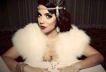 Konzept: the golden 20's / Art Deco, Perlen, Fransen - alles für das perfekte Styling à la Great Gatsby