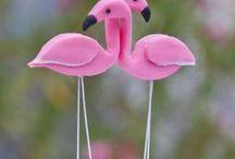 Konzept: Flamingo / alles rund um die putzigen linken gefiederten Kerlchen - Flamingos... Egal ob als Deko für eine Hochzeit, Geburtstag oder einfach so