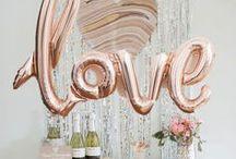 Konzept: Rosé Gold / Inspirationsboard für eine der schönsten Metallic-Schattierungen