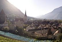 Die Alpenstadt / The Alpine City