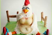 Easter Pâques cakes