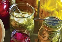 In a Pickle ...  / pickled veggies, fruits and other items ... as well as canned preserves