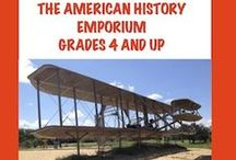American History Emporium / American History Emporium is a place to share materials for teaching American history. Please limit your posts to 3 resources a day.  Grades 4 and up. If you would like to pin to American History Emporium board, please email me at geshrwh@hotmail.com and I will be happy to invite you to join the board.For some reason, sending along pinterest addresses don't work(don't know why). Maybe, we can reach 300 followers by the end of the summer! http://www.teacherspayteachers.com/Store/Gail-Hennessey  / by Gail Hennessey