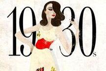 HISTORICAL 1930 GLAMOUR DRESSES / HISTORICAL 1930 GLAMOUR DRESSES