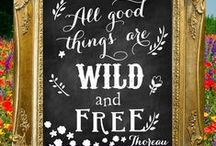 Free Spirit Style / A Free spirit is someone who knows what makes her happy!