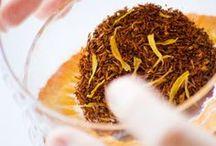 Nos thés rooibos et orzo / Retrouvez notre sélection.