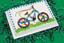 Bike Themed Birthday Party / Inspiration and ideas for a bike themed birthday party.