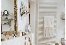 Shabby Chic Bathrooms / These shabby chic bathrooms are all the rage right now! Our shower heads will help you bring out the chic in your shabby chic bathroom decor. Because saving the world will always be chic.