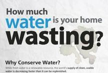Infographics / Because what better way to learn the importance of water conservation than to see it through infographics? Check out these crazy stats!