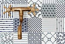 Bathroom Tiles & Textures / Check out these lovely bathroom tiles & textures for some bathroom inspiration!
