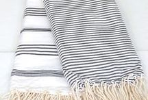 Towels & Textiles / Check out these towels & textiles for some bathroom inspiration!