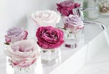 Fabulous Florals / Check out these fabulous floral bathrooms for some bathroom inspiration!