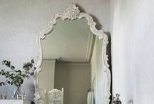 Bathroom Mirrors / Check out these beautiful bathroom mirrors for some bathroom inspiration!