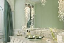 Gorgeous Greens / Check out these gorgeous bathrooms for some bathroom inspiration!