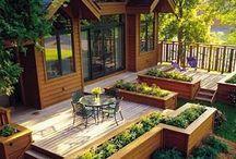 Decks, Patios, Indoor/Outdoor Living Spaces / by Chrissie M