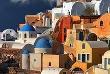 Experience stunning Greece...! / A pallete of colors paint the most unique sceneries in a country of which each corner has a breathtaking picture to offer...!!!