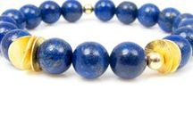 Blue / InTu jewelry design with meaning | Color board Blue