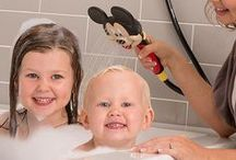 Disney Shower Heads / Get squeaky clean with your very own Mickey Mouse Combo Shower Head and Minnie Mouse Combo Shower Head! Your kids will love learning to shower with shower heads shaped like their favorite character, and they'll have lots of fun while they do. It's the perfect way to turn showering into something they'll look forward to all day long.