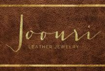 Handmade Jewelry by Uri / Genuine Leather Handmade Jewelry.