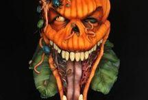 Sugar Spooks / 40+ cake artist celebrate Halloween through cakes www.sugarspooks.com