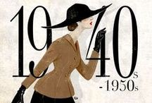 HISTORICAL 1940's / 50's GREAT FASHION / HISTORICAL 1940's / 50's GREAT FASHION