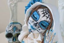 """Sugar Skull Bakers / Dia de los Muertos or the """"Day of the Dead"""" is a Mexican religious holiday that has grown in popularity over the years. One of its popular icons, the sugar skull so this is the passion of 30+ bakers and cake artist form around the world."""