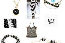 Black & White / Black & White styling en patterns in Fashion