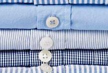 In his wardrobe,
