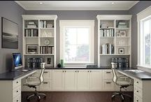 Home office wishes / Beautiful office, work spaces, and getting organized.